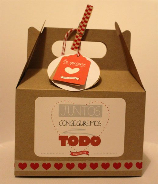 Cajitas para san valent n packaging regalos originales - Sorpresas para enamorados ...