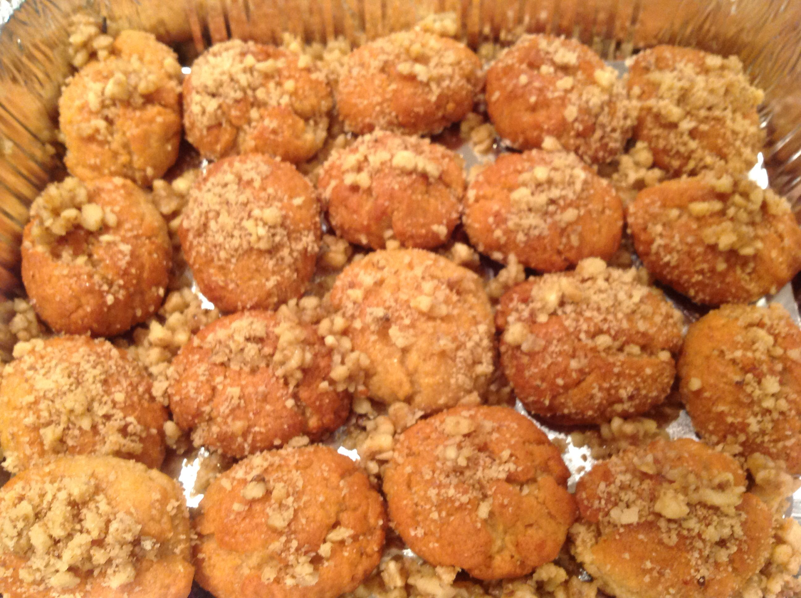 Melamakarona in Greek, I call them my Honey Syrup Biscuits