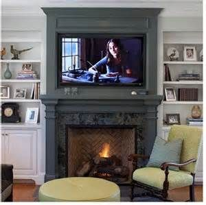 The Fireplace Is Painted In Benjamin Moore Quarry Rock Bing Images