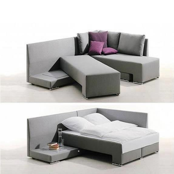 A Couch Bed Clever Sofa Bed System in 2019 | HOME: Furniture | Modular sofa, Space  saving furniture und Sofa bed