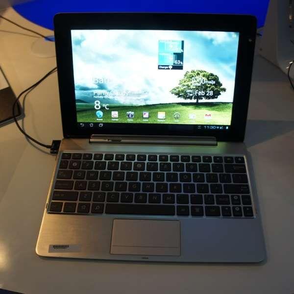Conheça os novos tablets com teclado físico da Asus