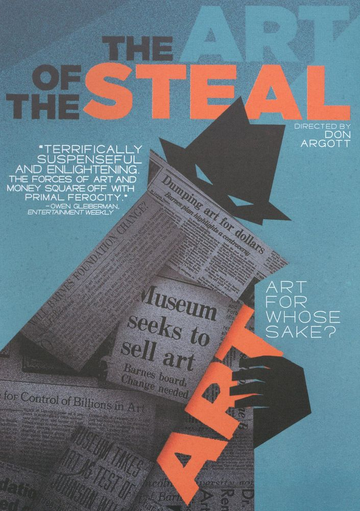 The Art of the Steal DVD 2009 | Barnes foundation ...