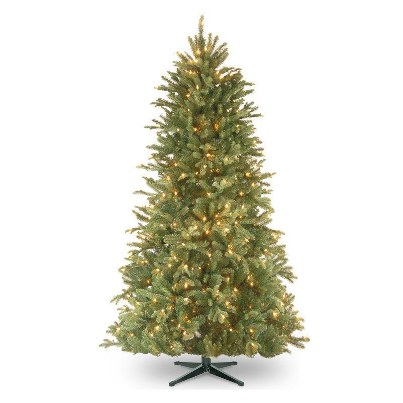 National Tree Company Feel Real Tiffany Slim Pre Lit Christmas