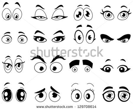 Cartoon Eyes Free Vector For Free Download About 110 Free Vector In Ai Eps Cdr Svg Format Sort By Newest First Cartoon Eyes Eye Drawing Cartoon Drawings
