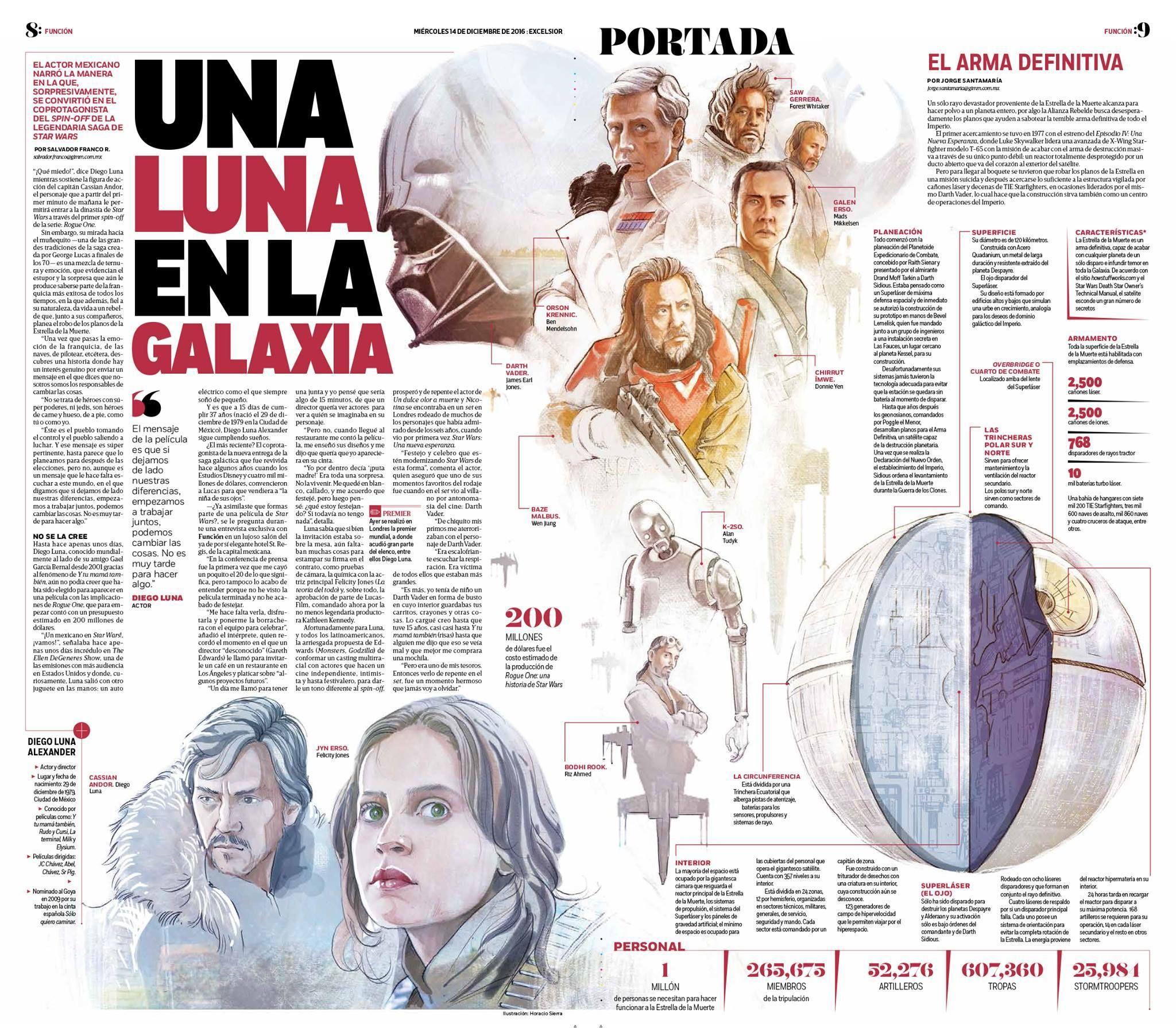 Creatividad: Hermoso trabajo en el diario mexicano Excélsior, con ...