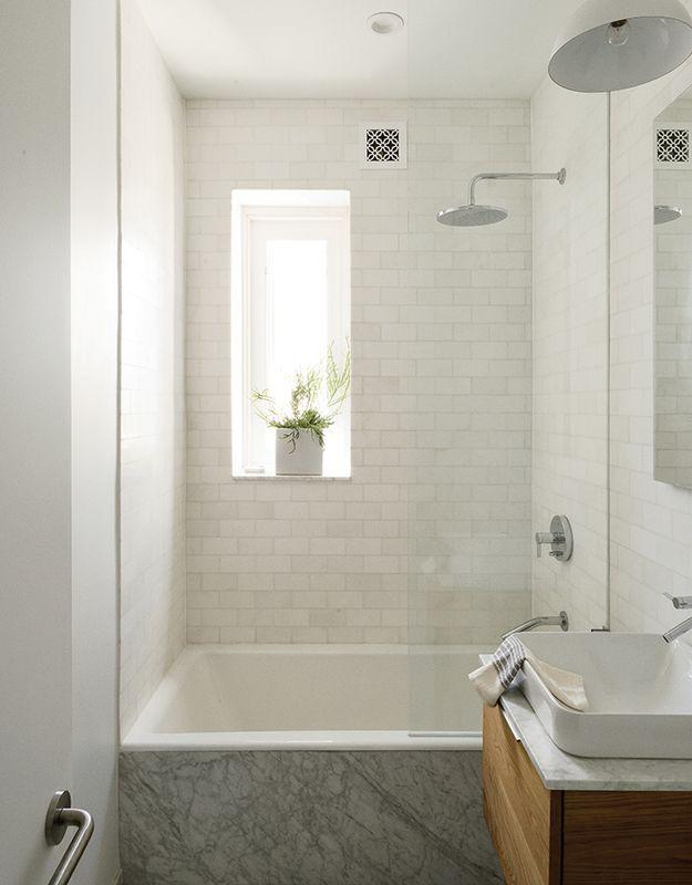 Small Apartment Space Renovation Bathtub Shower Combo Tiny Bathrooms Small Bathroom
