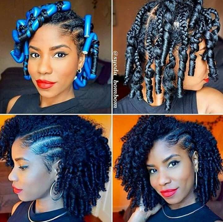 pindaphené chauvin on hair | braids with curls, natural