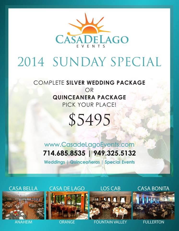 Plan Your Wedding Or Quincenera At One Of Casa De Lagos Events Venues In Orange County For A Very Affordable Price Del Lago Inside Venue And Pretty