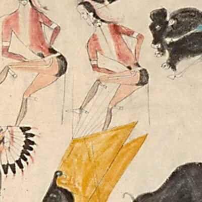 painted elk hide ap art history