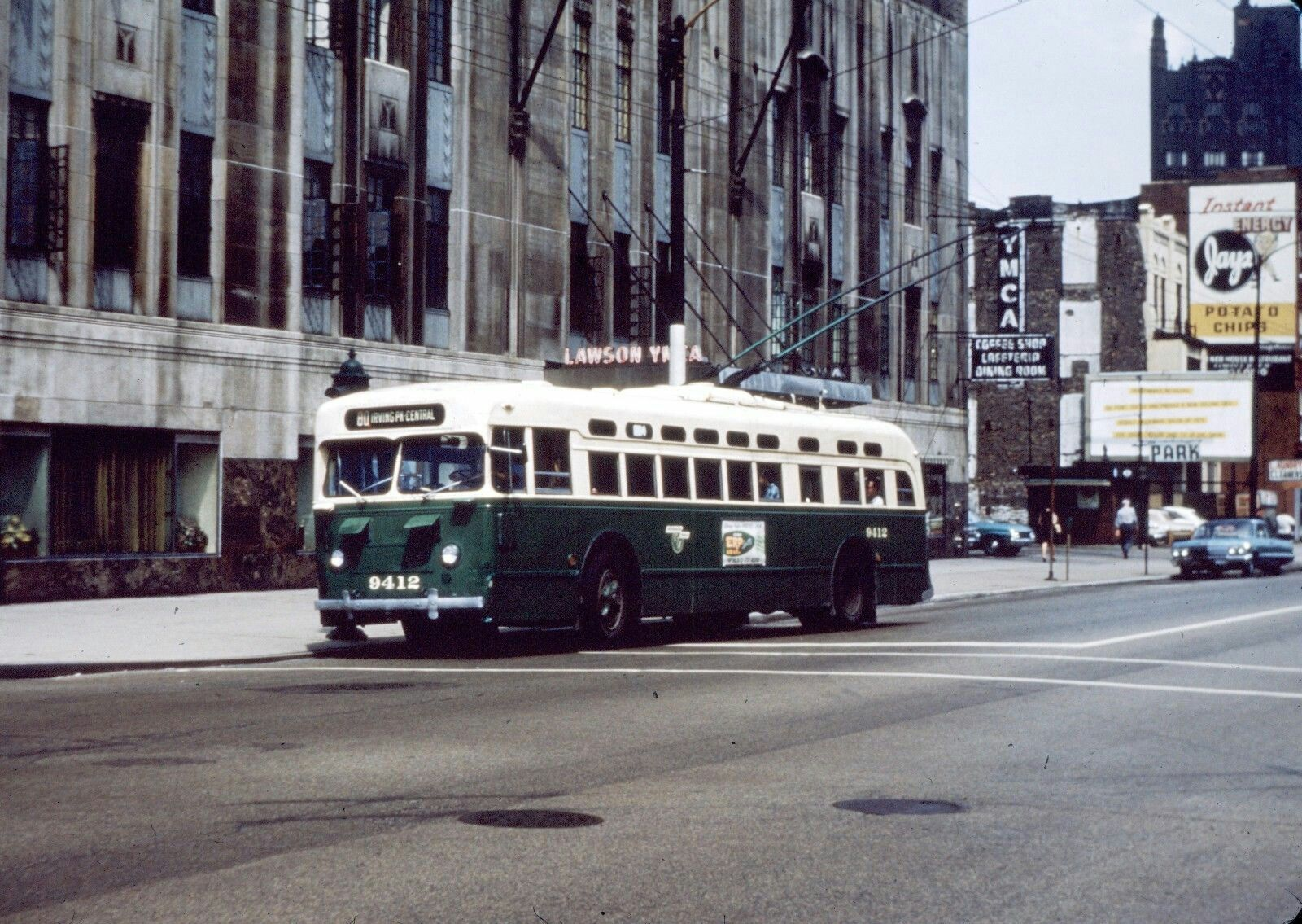 Chicago trolley coach chicago photos chicago history