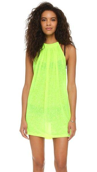 Aegean Mini Cover Up In Lemon Beachwear For Women Clothes Design