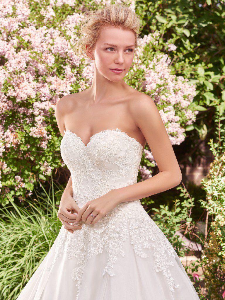 Darlene by rebecca ingram wedding dresses wedding