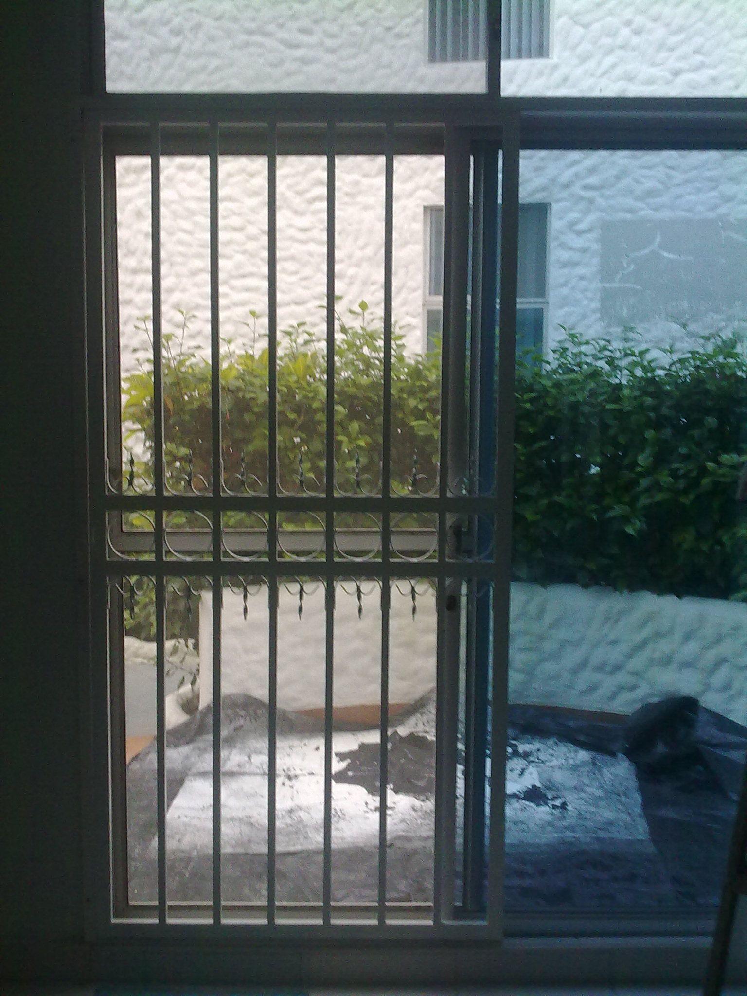 Rejas puerta corrediza en tubo rectangular de 20x40x1 5 - Rejas para puertas ...