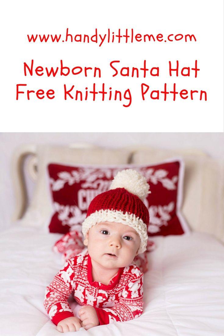 Baby Santa Hat - Knitting Pattern | Free Knitting Patterns For ...