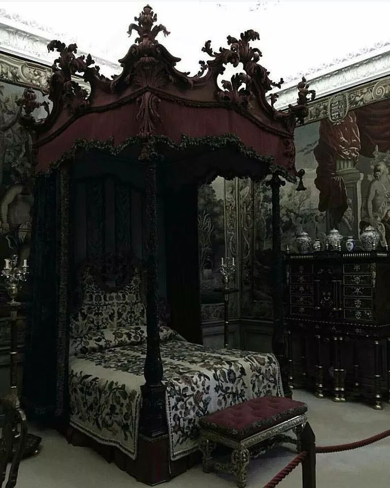 Pin By Twin B On Furniture Likes Gothic Room Gothic House Gothic Bedroom