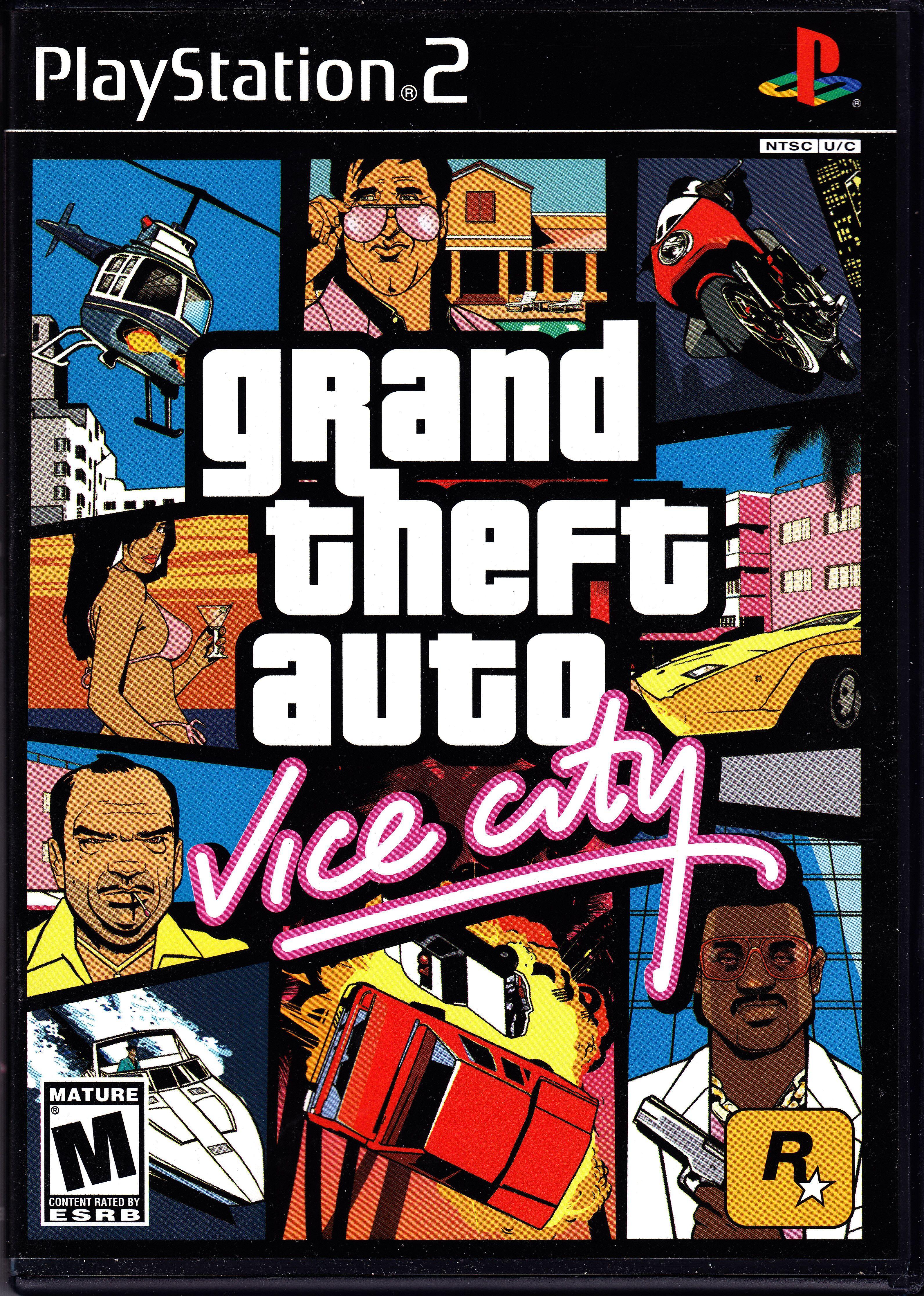 Grand Theft Auto Ausmalbilder : Grand Theft Auto Vice City Playstation 2 Rockstar Best