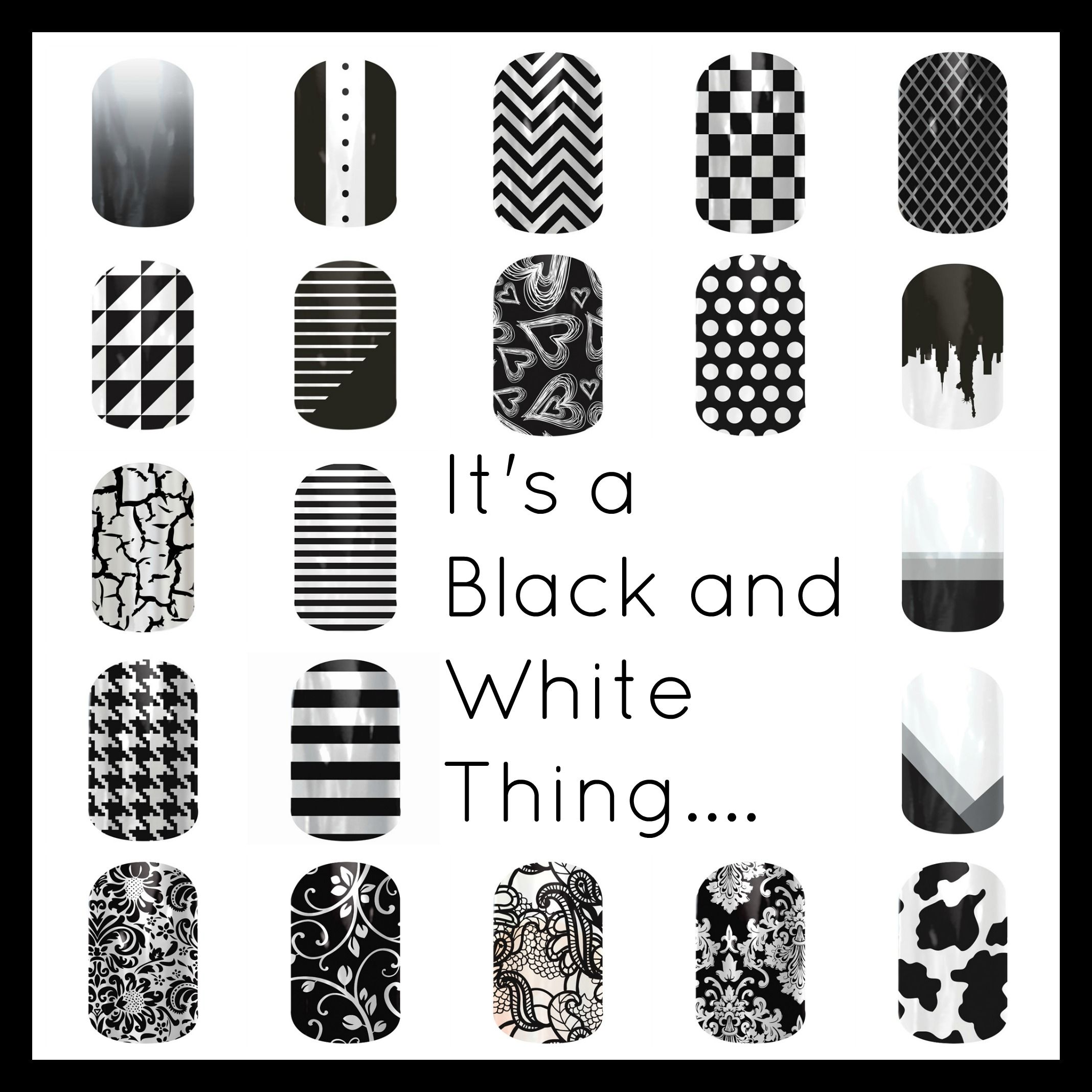 If you love Black & White, Jamberry has you covered! Jamberry Nails ...