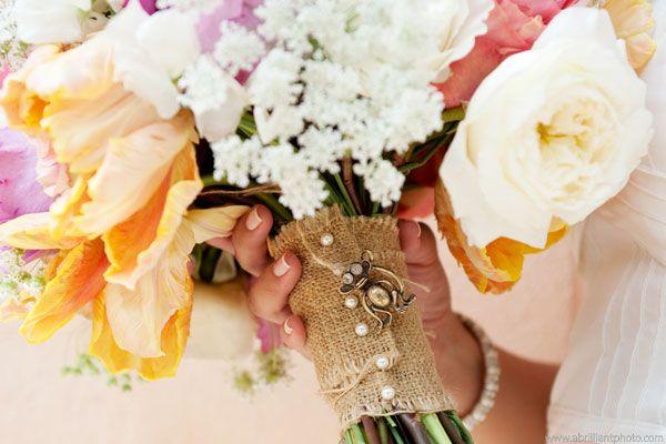 Der Brautstrauß Guide N°4 mit Tipps und Trends zum Brautstrauß Stiel | Friedatheres