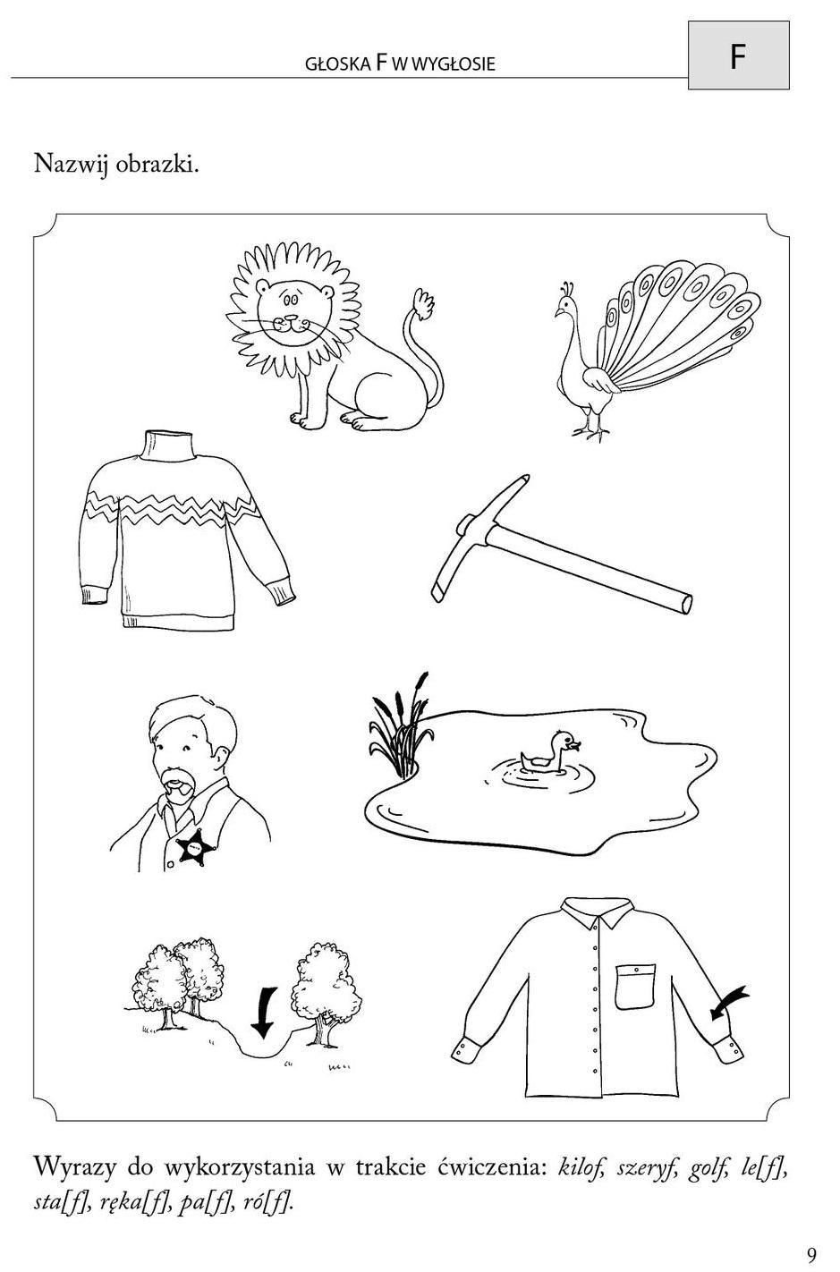 Obrazkowe Cwiczenia Logopedyczne Dla Przedszkolakow Counting Worksheets Worksheets Printable Numbers