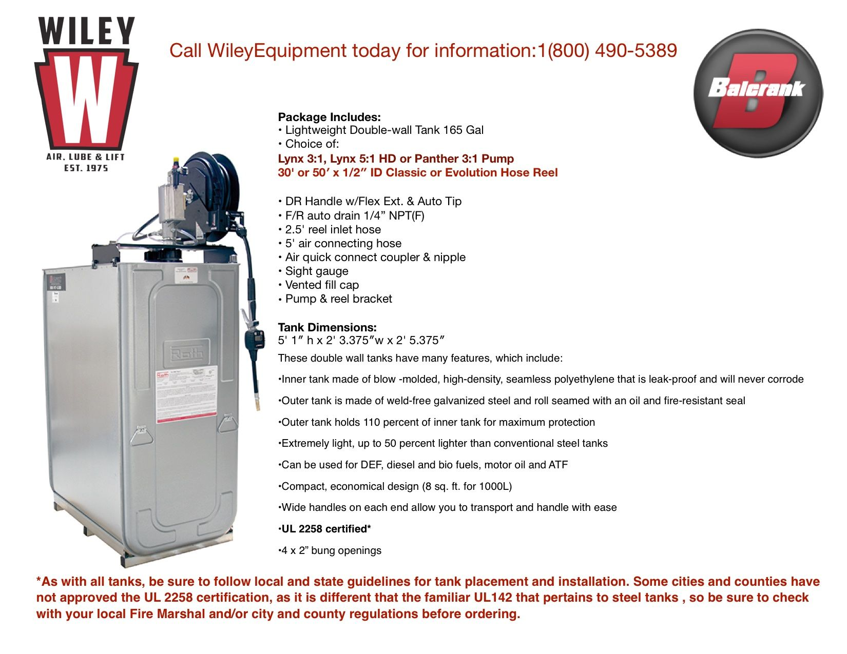 Pin by Wiley Equipment Company on Balcrank Lube, Hose