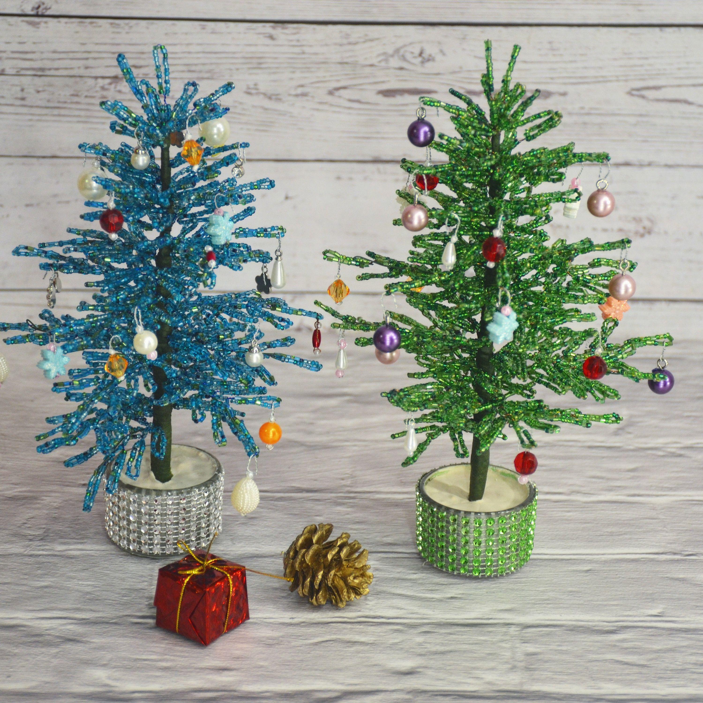 Christmas Tree Beaded Christmas Gift Christmas Gift Beaded Etsy V 2020 G Bisernye Cvety Cvety