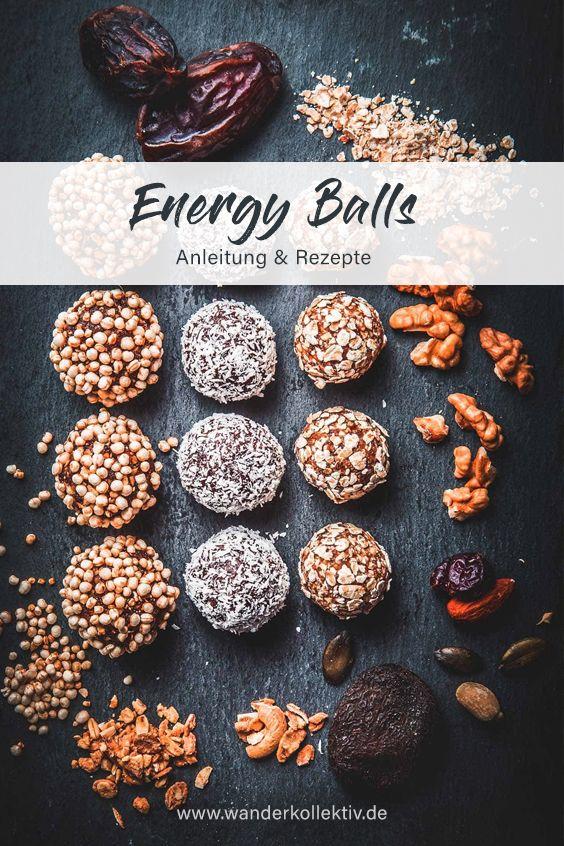 Energy Balls / Energiekugeln - Anleitung & Rezepte für den Erfolg am Berg