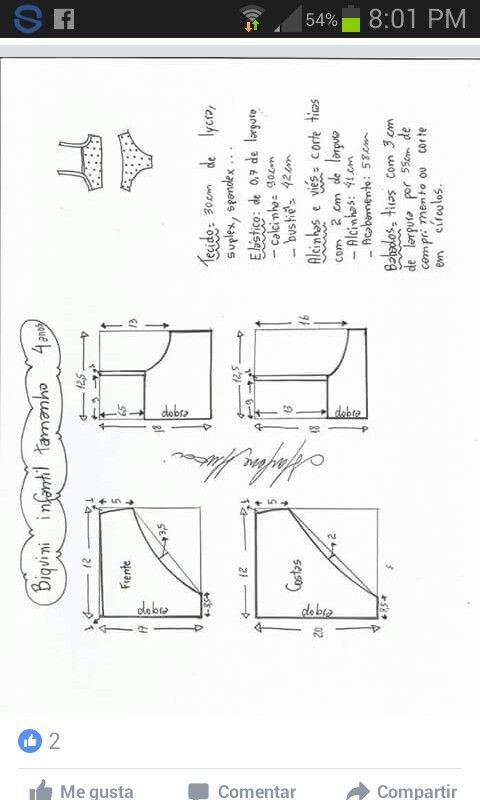Pin de Nayadedt aguirre en Sewing clothes | Pinterest | Ropa, Moldes ...
