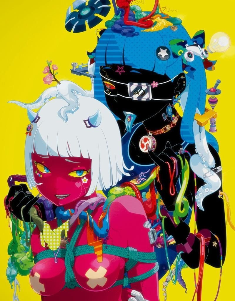 lagarto on Twitter | Japanese pop art, Colorful art, Art