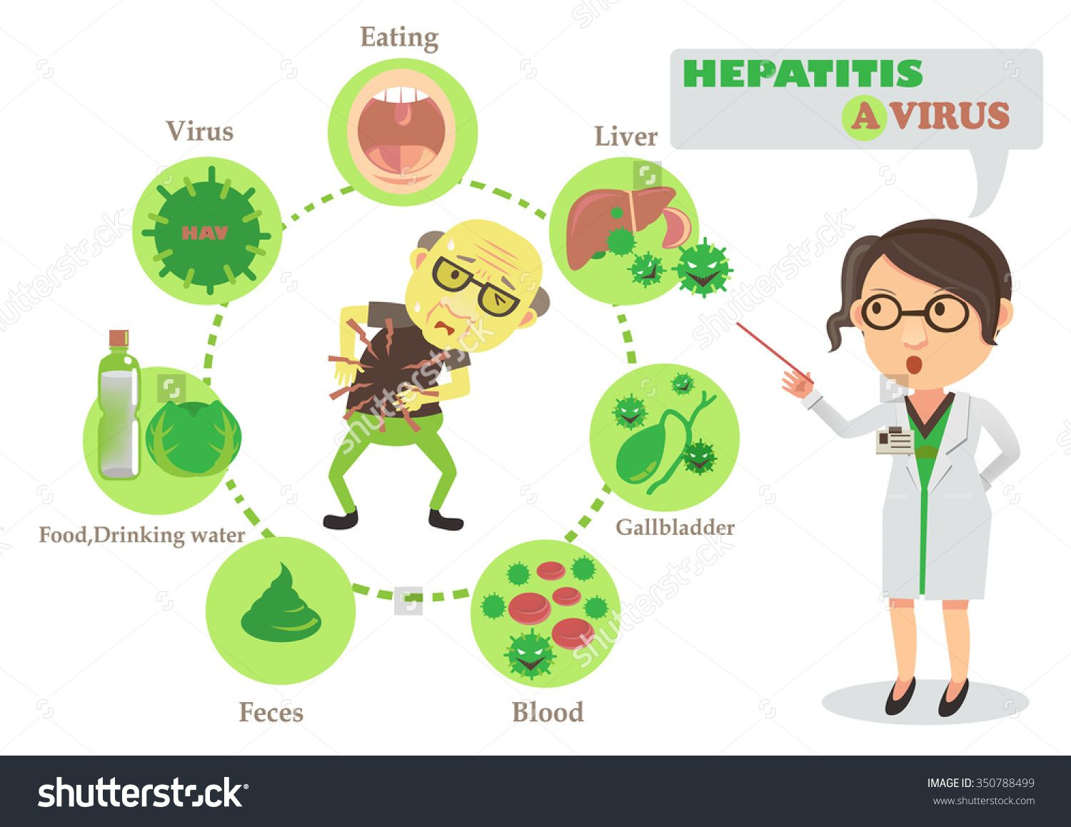 Image result for hepatitis a cartoon | INFECTIONS ... - photo#40