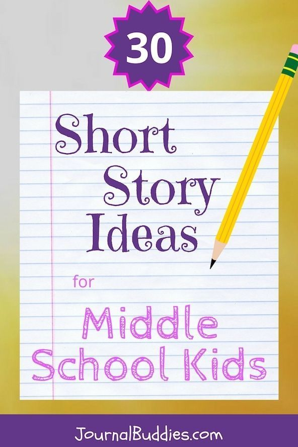 Short Story Ideas for Middle School Students | Short story ...