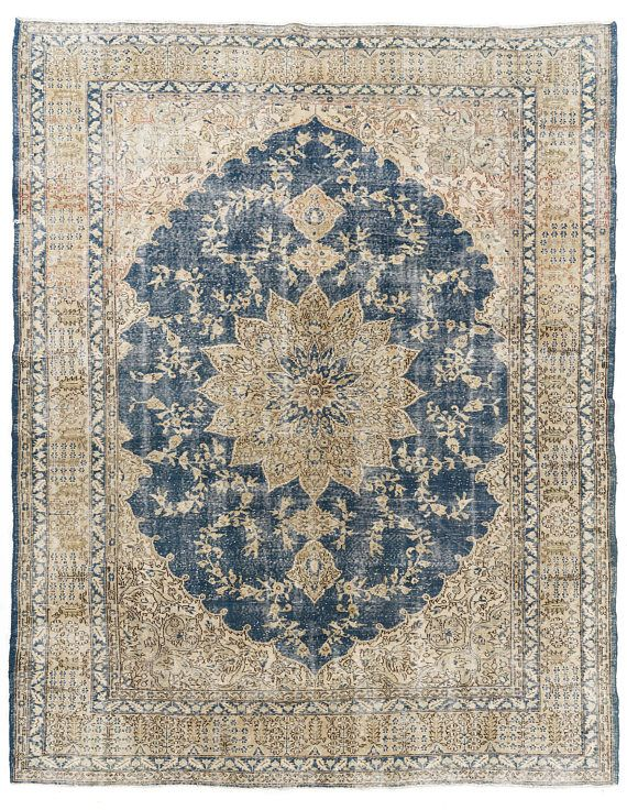 9 3x12 Ft Vintage Turkish Area Rug Distressed Old Carpet For Rugs Area Rugs Anatolian Rug
