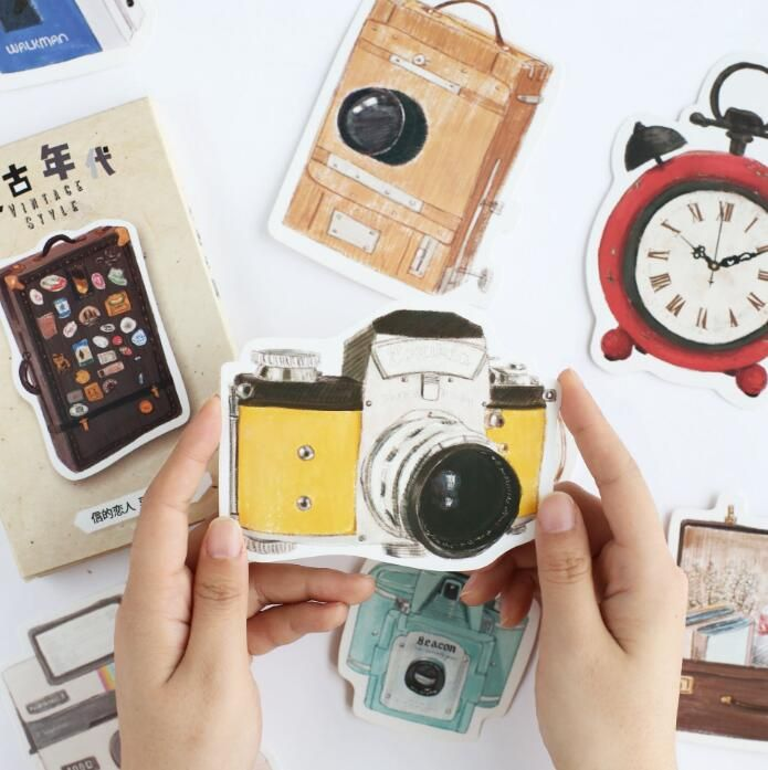 Cheap Letter Envelope Buy Quality Gift Directly From China Suppliers 30 Pcs Pack Retro Era Story Camera Greeting Card Postcard
