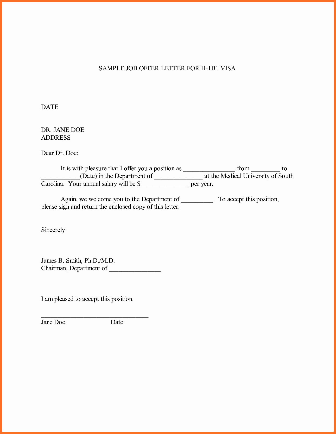 Employment Offer Letter Templates Awesome Sample Fer Letter Lettering Letter Templates Printable Letter Templates Simple job offer letter template