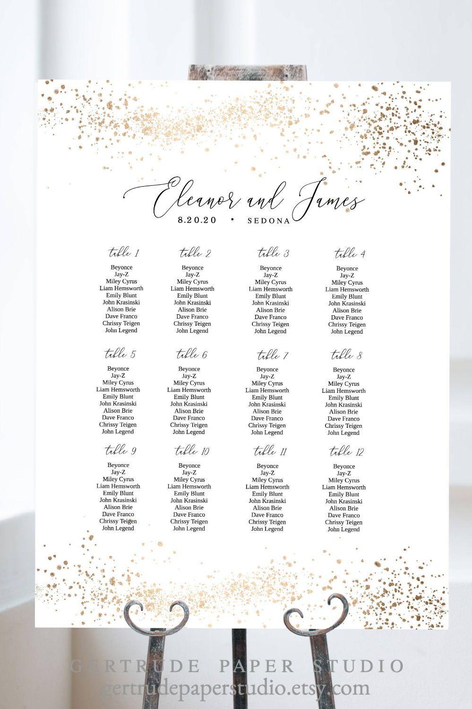 Printable Wedding Seating Chart Sign Personalized Seating Etsy Wedding Seating Chart Sign Seating Chart Wedding Seating Chart Sign