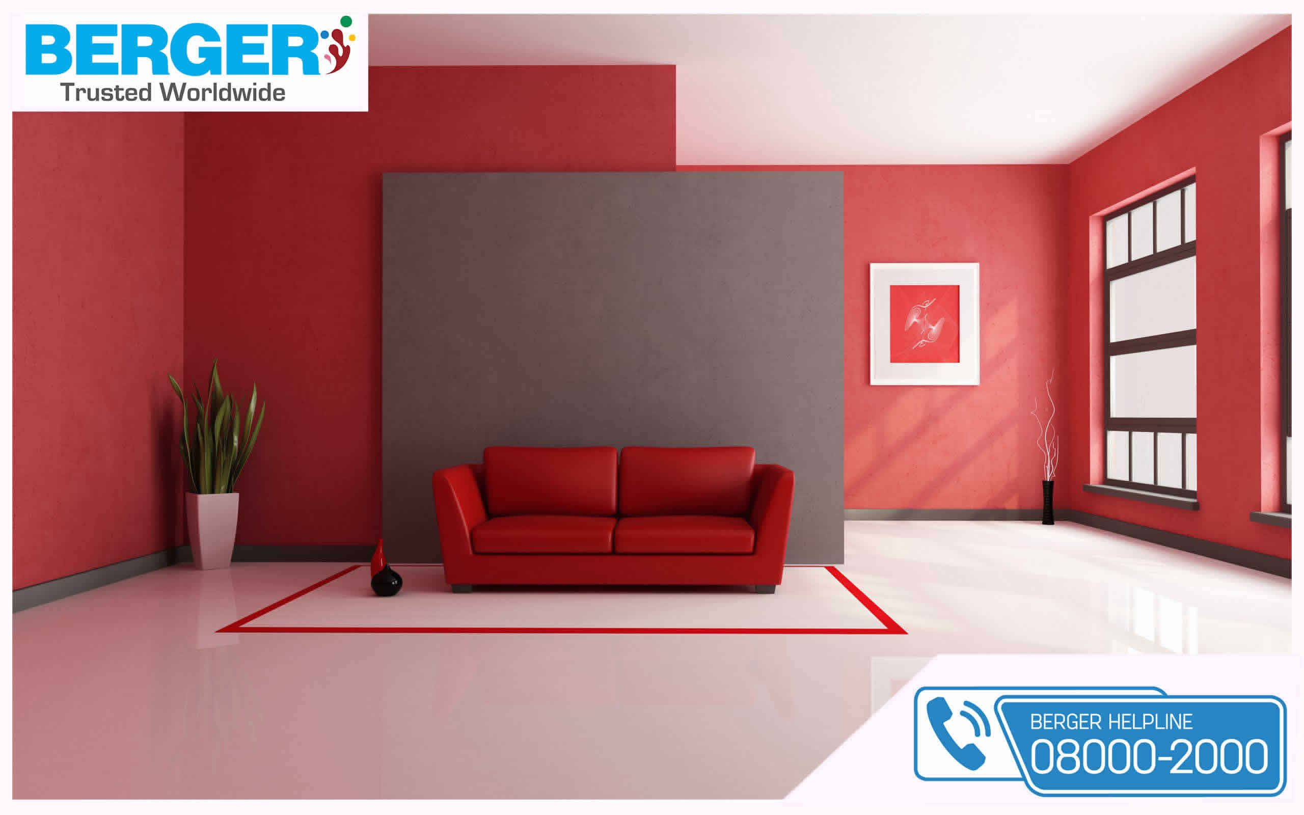 Attractive paints for your home berger paints paints paint color colour livingroom decor room