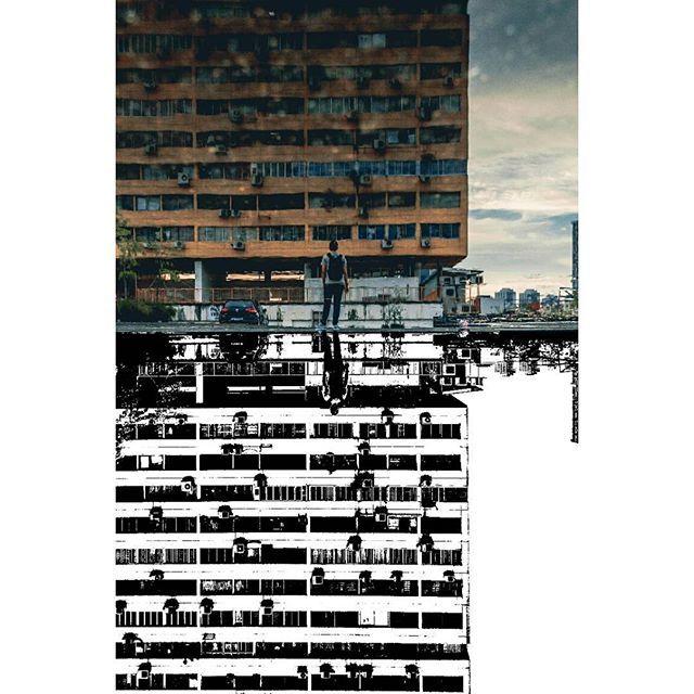 All about reflection 📷 : Lily Lvnatikk  #threshold #reflection #edit #edits #photoshopcs6 #photoshop #adobe #adobephotoshop #cs6 #cs5 #graphicdesign #photography #photoedit #blackandwhite #mediamanipulation