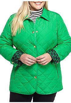 8fa9eec9c65 Crown   Ivy™ Quilted Barn Jacket