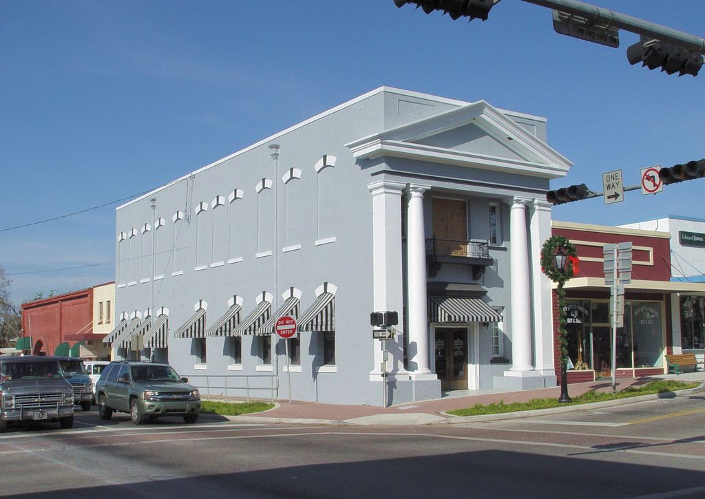 First National Bank Former Florida House Styles Mansions