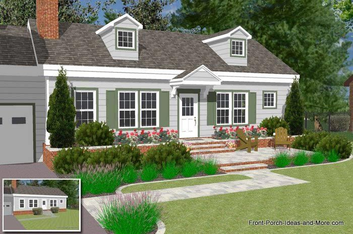 Podcast 3 How To Extend A Small Porch Or Portico Front Porch