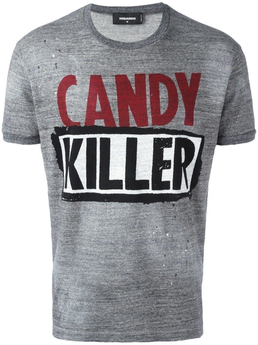 ad0a4d7287 DSQUARED2 'Candy Killer' T-Shirt. #dsquared2 #cloth #t-shirt ...