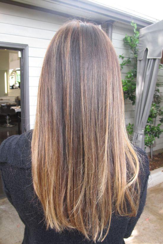 Brunette Brunette Hair With Highlights Straight Brunette Hair Hair Styles