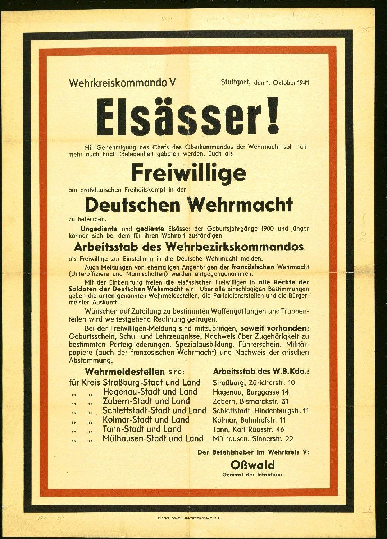 Elsässer! 1941