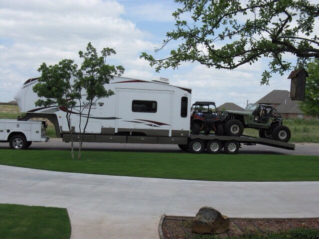 Custom Fifth Wheel Toy Hauler Oh The Possibilities
