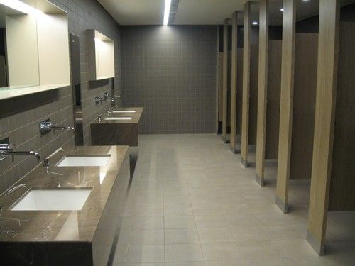 Kyissa washroom cubicle systems design restrooms for Office bathroom ideas