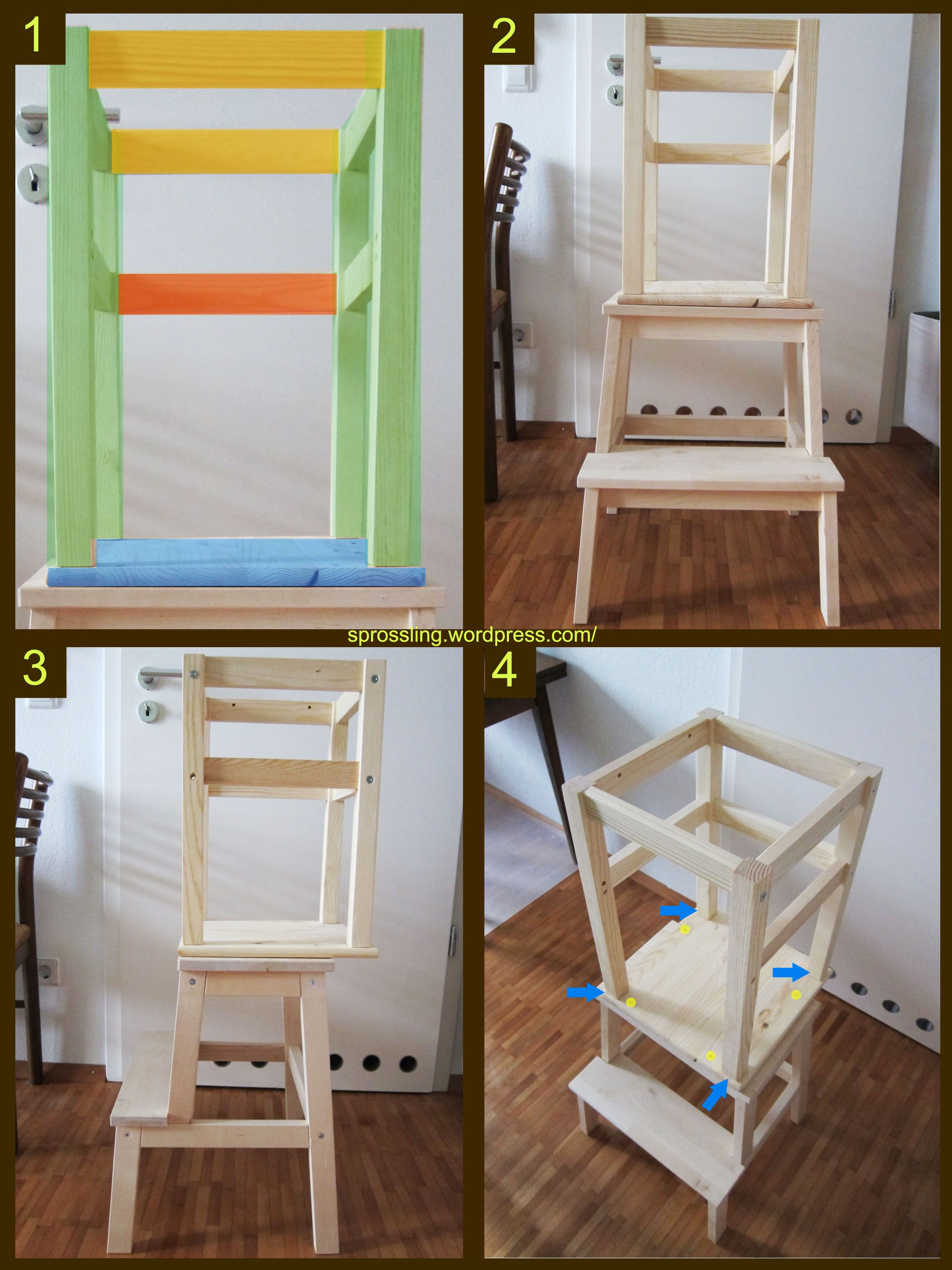 Ikea Hacks Lernturm Der Lerntum-hack (learning Tower) | Deco Home | Learning
