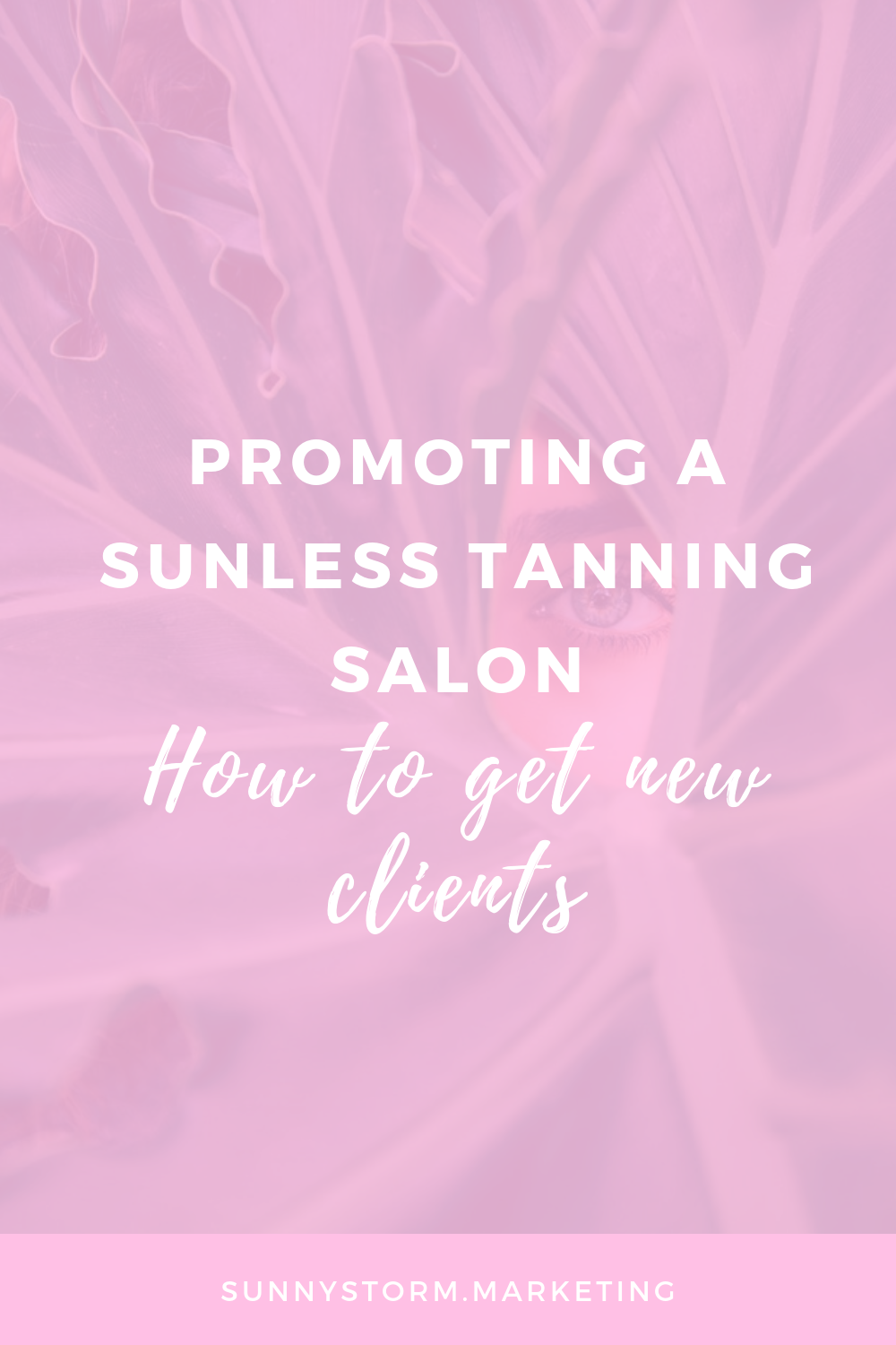 Marketing for spray tan businesses: how to get more clients