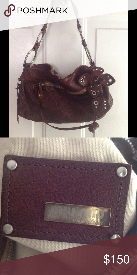 Spotted while shopping on Poshmark  VINTAGE MIU MIU BAG!  poshmark  fashion   shopping  style  Miu Miu  Handbags  MiuMiu 2b9eaeda92