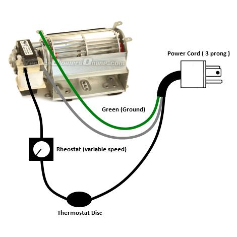 Fireplace Blower Kit Wiring Diagram Fireplace Blower Fireplace