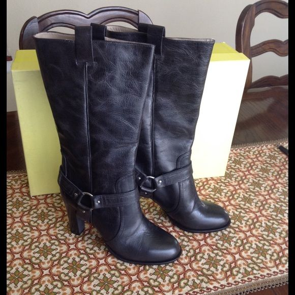 Pre-owned - NEW OVER THE KNEE CAMEL RIDING BOOTS DKNY RtMYrdAu9
