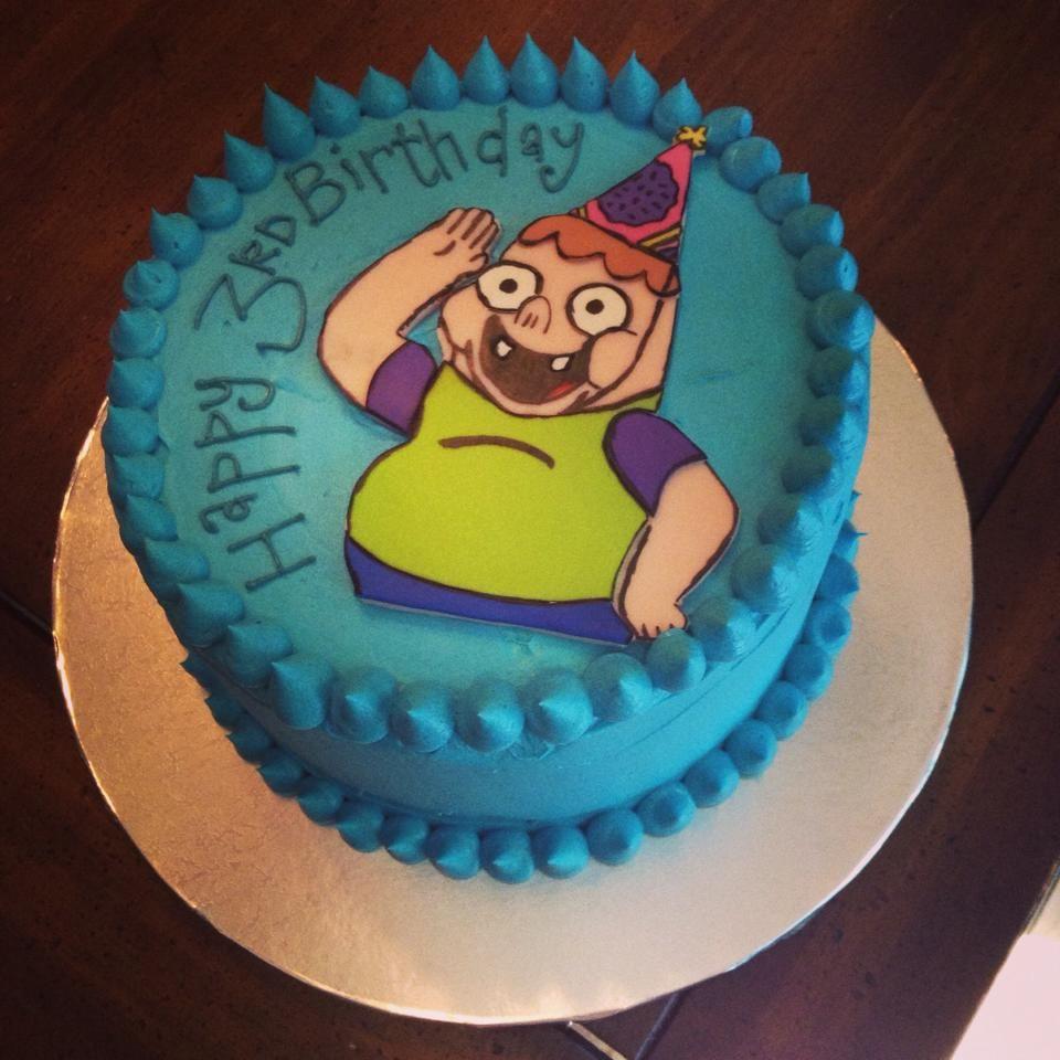 Birthday Cake! Clarence From Nickelodeon.